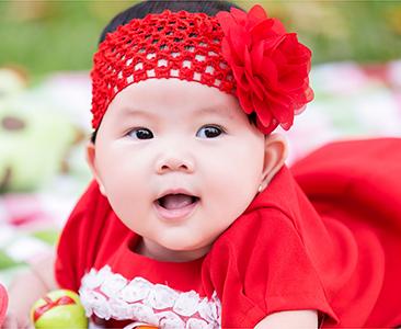 chụp hình baby nghệ thuật bé tiên lâm 6 tháng tuổi