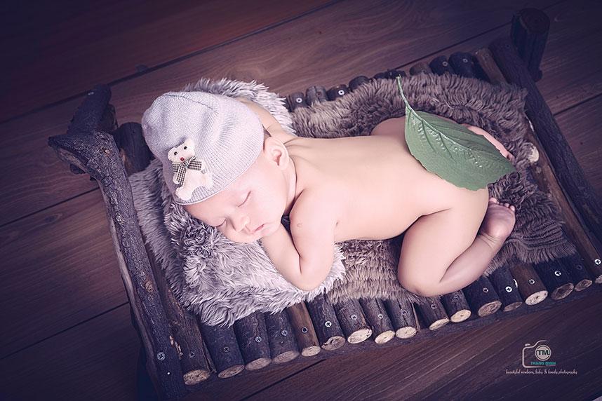Chụp hinh bé sơ sinh độc lạ